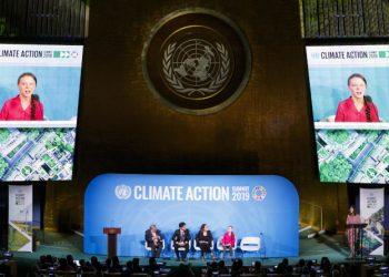 Greta Thunberg al summit Onu sul clima