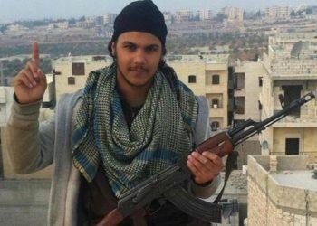 Yassine Cheikhki, conosciuto come Abu Talha al-Belgiki, uno dei due jihadisti belgi fuggiti dal campo di Ayn Issa, nord della Siria