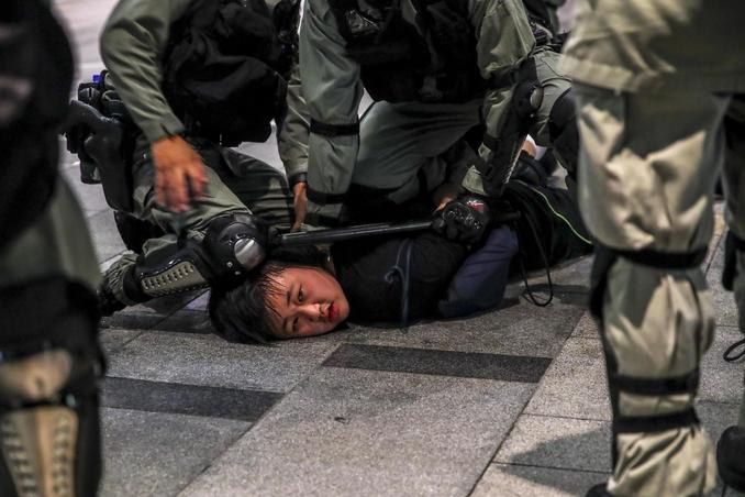 hong kong cina proteste