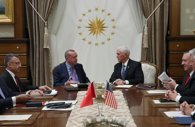 pence erdogan turchia usa