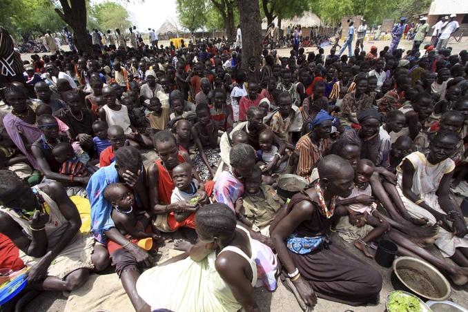 sud sudan profughi