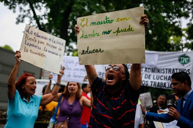 venezuela insegnanti