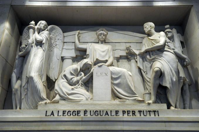 La giustizia è uguale per tutti, tribunale di Milano