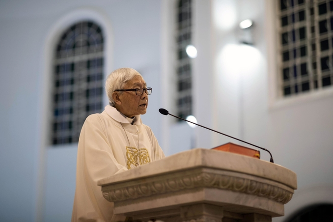 joseph zen cardinale hong kong