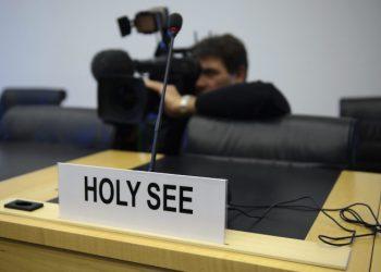 Poltrona vuota dell'osservatore permanente della Santa Sede all'Onu