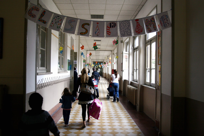 Ingresso di una scuola