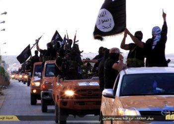 Schermata di un video dell'Isis