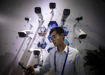 Telecamere di sorveglianza in Cina