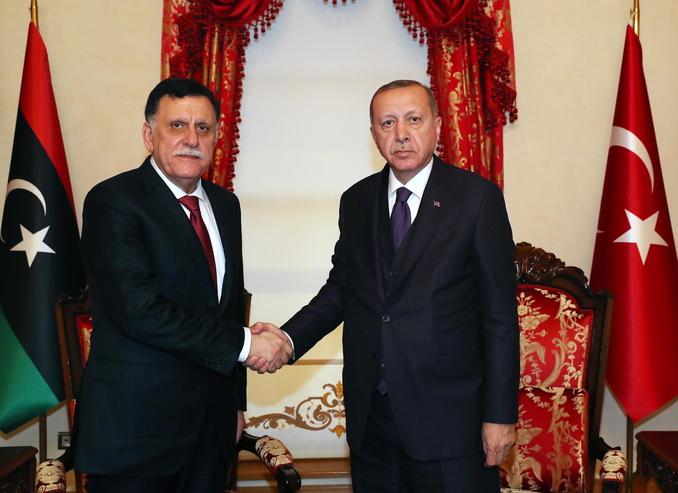 libia erdogan sarraj