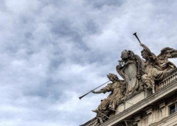 Il Palazzo della Consulta sede della Corte Costituzionale a Roma