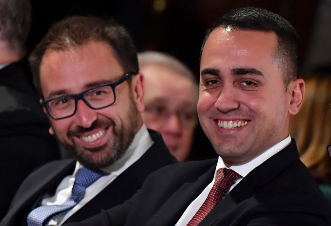 Alfonso Bonafede e Luigi Di Maio