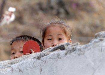 Bambini nordcoreani