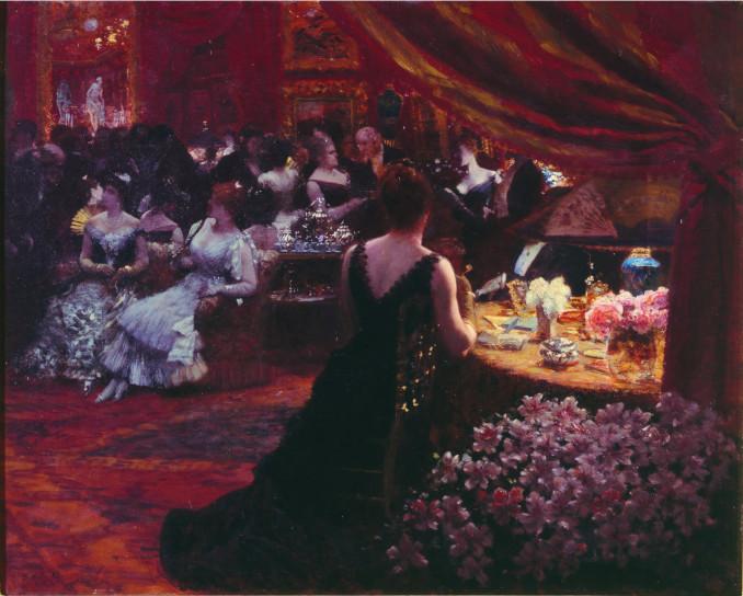 Giuseppe De Nittis, Il salotto della principessa Mathilde