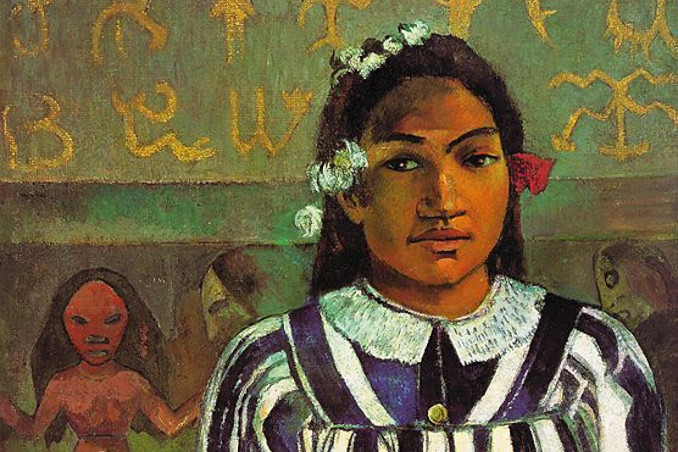 Merahi metua no Teha'amana, ritratto della moglie tredicenne di Paul Gauguin