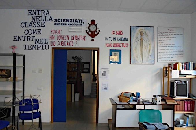 La scuola paritaria Mons Camillo Di Gaspero a Tarcento (Udine)