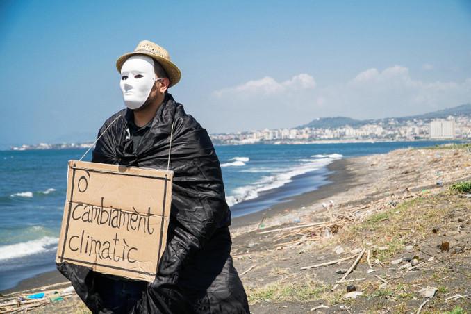 Protesta ambientalista contro i cambiamenti climatici