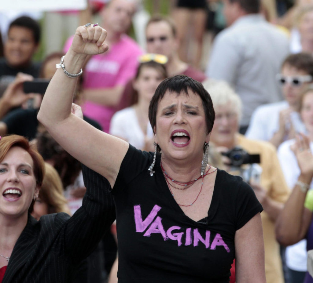 Eve Ensler, autrice dei Monologhi della vagina