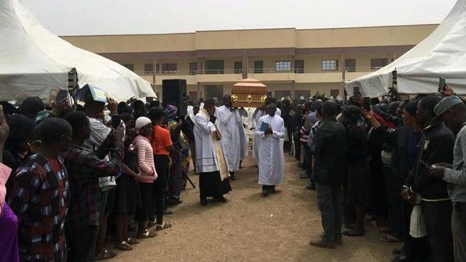 nigeria boko haram funerali nnadi