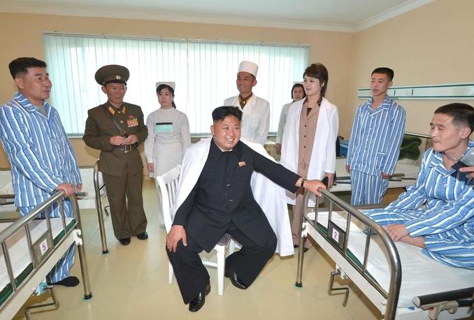 nord corea kim ospedale