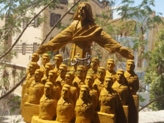 statua memoriale martiri libia egitto