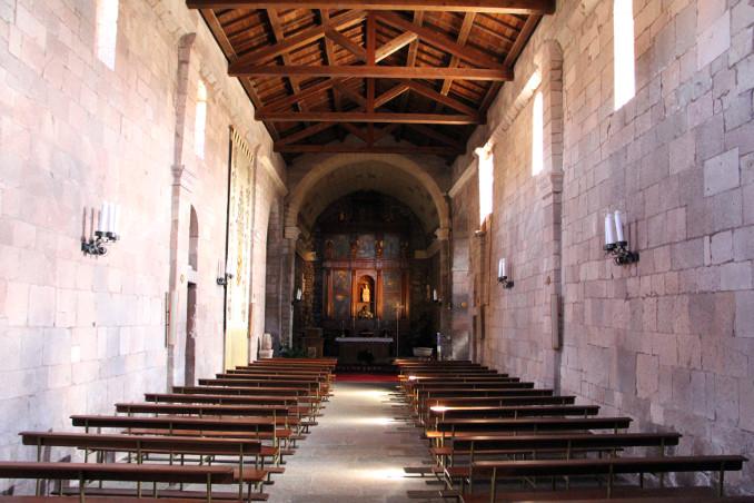 Interno della basilica di Tergu