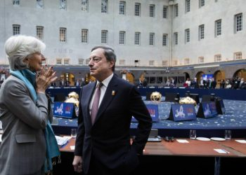 Christine Lagarde e Mario Draghi