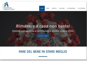 Fondazione Italia per il dono contro il coronavirus