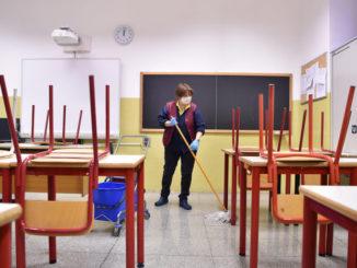 Scuola chiusa per coronavirus
