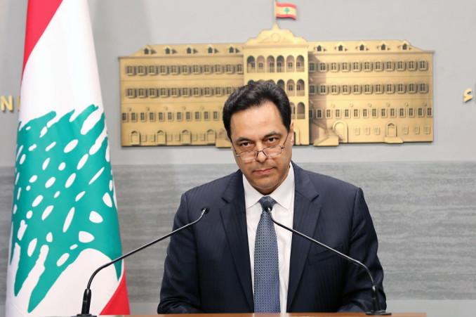 Il premier Hassan Diab annuncia il default del Libano