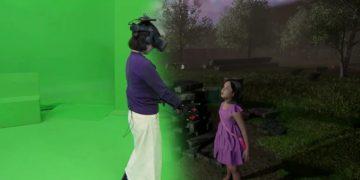 Una scena del documentario sudcoreano Meeting You, incontro virtuale tra una mamma e la figlia morta