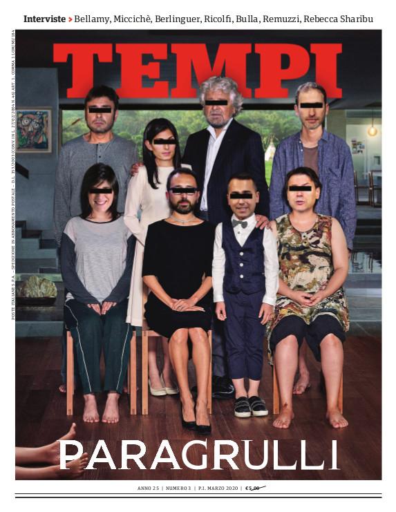 La copertina del numero di marzo 2020 di Tempi