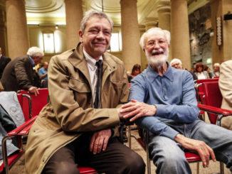 Carlo Verdelli con Eugenio Scalfari