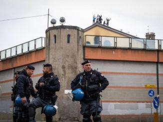 Rivolta nel carcere di San Vittore a Milano per l'emergenza coronavirus