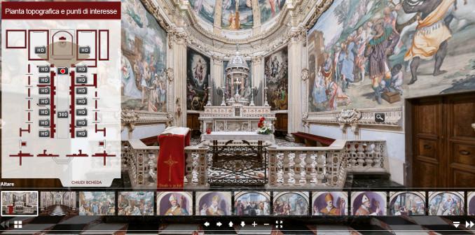 Tour digitale della Certosa di Garegnano a Milano
