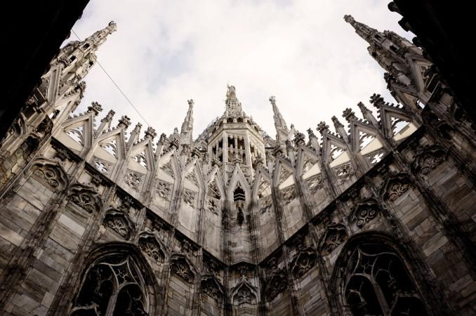 Uno scorcio del Duomo di Milano