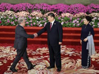 Il segretario generale Onu Antonio Guterres ricevuto a Pechino da Xi Jinping