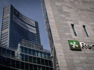 Una vista del palazzo della Regione Lombardia a Milano