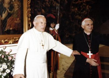 ratzinger wojtyla giovanni paolo ii benedetto xvi