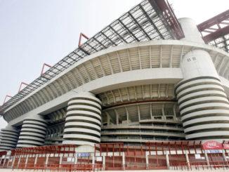 Lo stadio Meazza San Siro a Milano