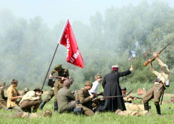 Rievocazione della battaglia di Varsavia 1920 nel 90esimo anniversario
