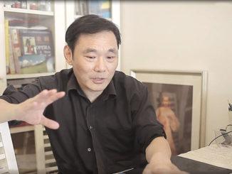 Il giornalista cinese esule in Italia Dalù