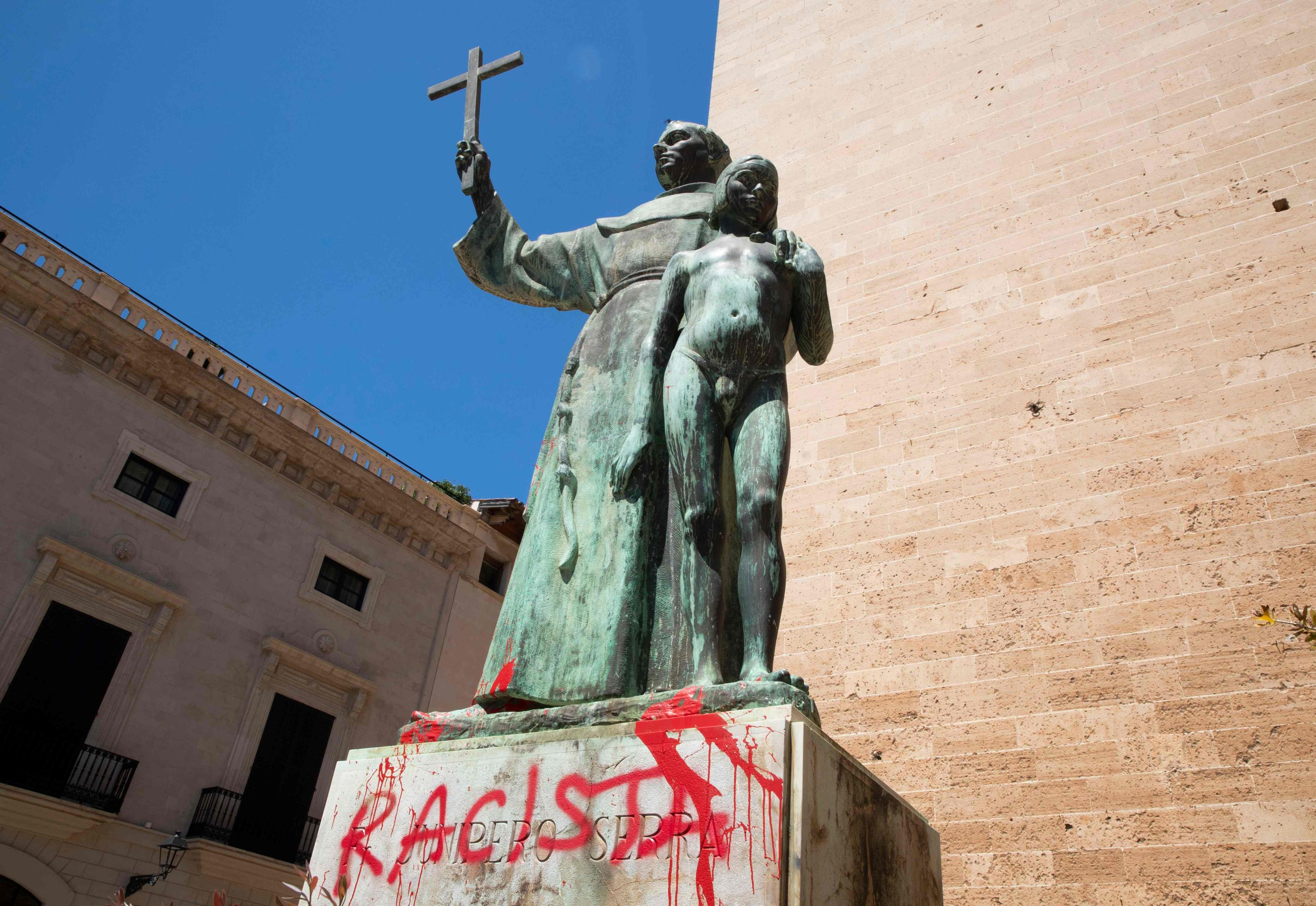 junipero serra statua spagna
