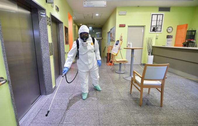 Sanificazione luogo di lavoro per emergenza coronavirus