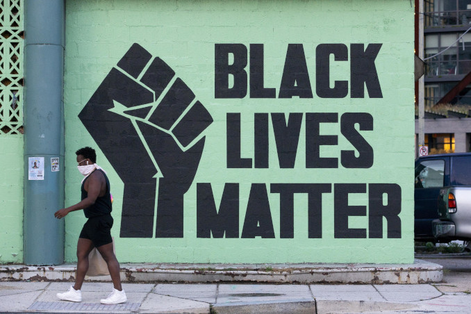Murale di Black Lives Matter