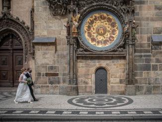 Matrimonio in piena emergenza coronavirus a Praga