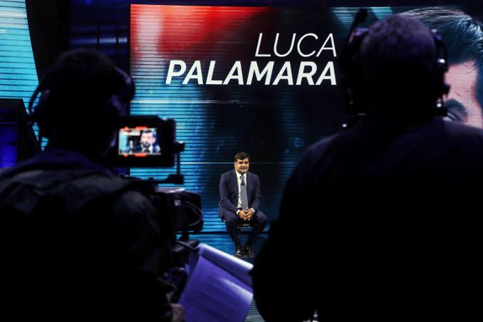 Luca Palamara intervistato da Giletti per La7