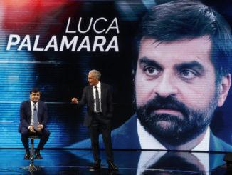 Luca Palamara ospite della trasmissione di Massimo Giletti su La7