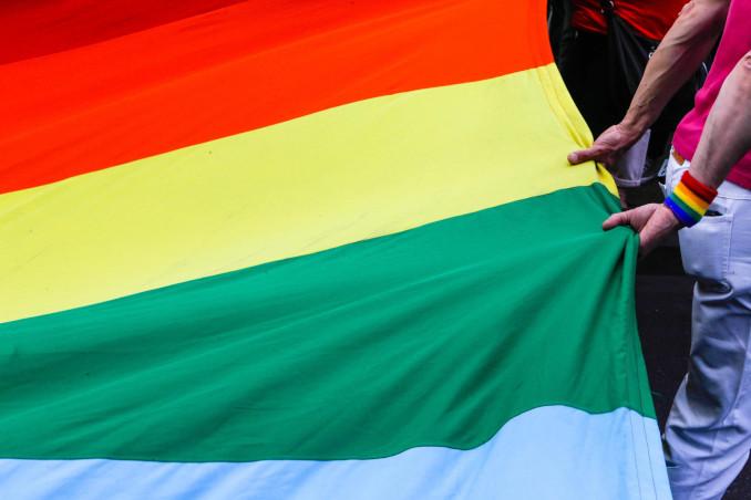 Manifestazione in Belgio contro l'omofobia