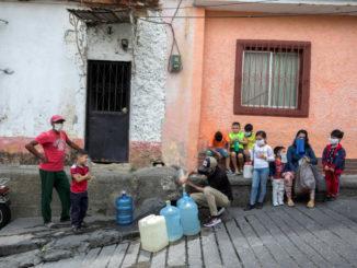 Emergenza coronavirus a Caracas, Venezuela