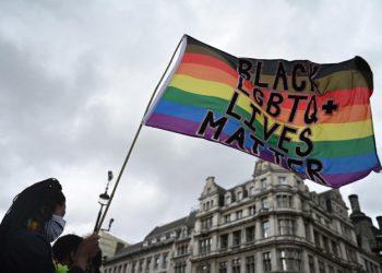 Manifestazione di Black Lgbtq Lives Matter